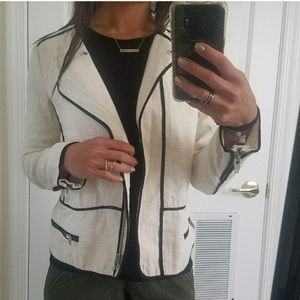 Zara color block blazer
