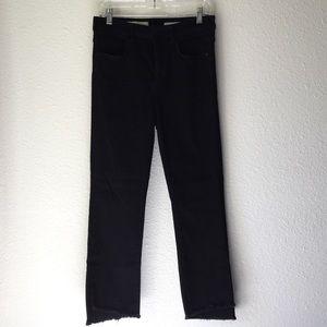 Pilcro the Letterpress Black Skinny Jeans