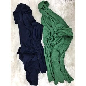 Lot of 2 Merona Long Sleeve Cardigans C15