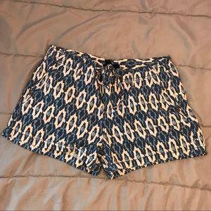 GAP Blue Printed Shorts