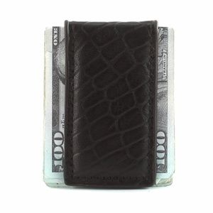 Other - Magnetic Money Clip - Brown