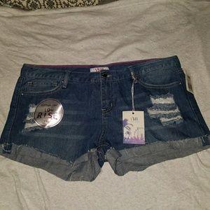 YMI distressed shorts
