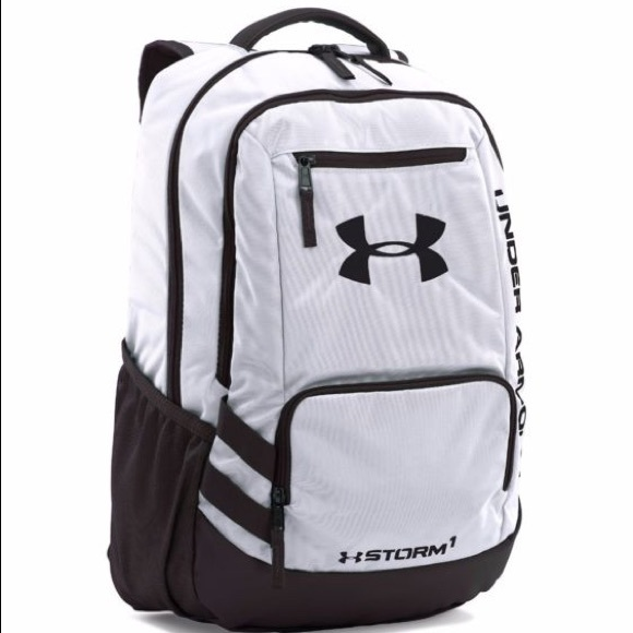 9ef9f1b89e4 Under Armour Bags   White Backpack   Poshmark