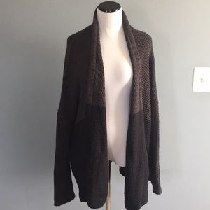 Urban Outfitters bdg two tone oversized cardigan