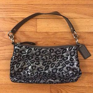 Coach Sparkle Leopard Print Bag - NWOT