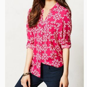 NWT Anthropologie maeve Button Down