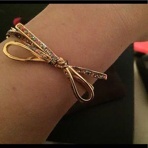 KATE SPADE Confetti Glitter Bow Bracelet