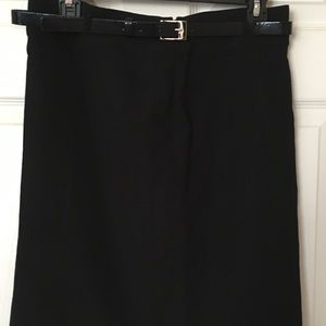 American living Knee length skirts w/belt