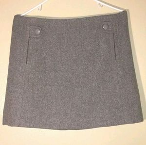 J Crew 100% Wool Skirt Like New Perfect Condition