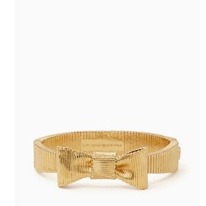 Kate Spade All Wrapped Up Bow Hinged Bangle