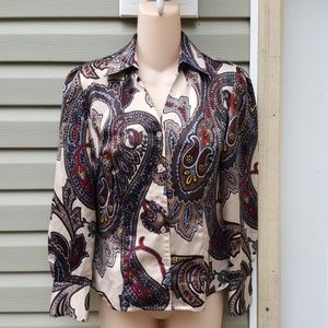 East 5th Petite Blouse Size 2P