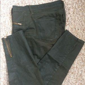 Zara Woman green skinny pants 🍃🌿🌲