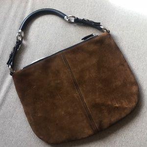 Prada Bags   Suede Hobo Bag   Poshmark 770750e02a