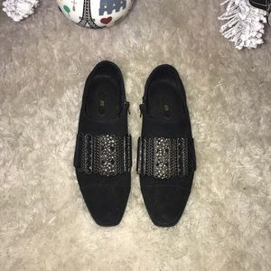 H&M limited edition black shoes