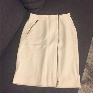J. Crew Winter White Pencil Skirt