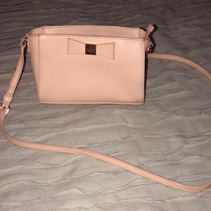 Kate Spade Pink Bow Cross Body purse