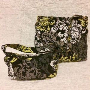 💫Vera Bradley Baroque Tote & Shoulder Bag Lot💫