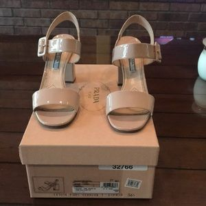 Prada Vernice heels