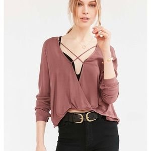 Urban Outfitters Criss Cross Top