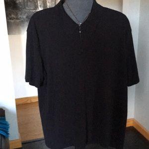 Brandini xxl 3/4 zip up collar
