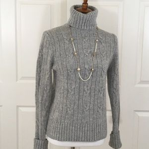J. Crew Wool Cashmere Blend Sweater