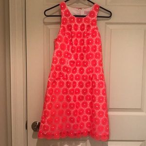 Lilly Pulitzer Bright Pink Shift Dress Size 0