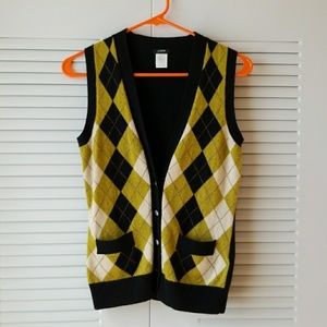 J. CREW merino wool vest