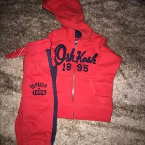 Osh kosh sweatsuit Outfit