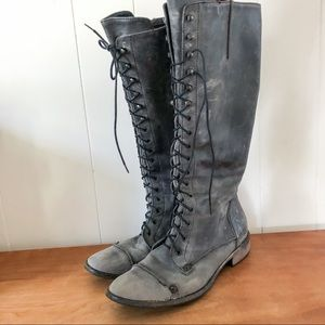 Lace up Charles David boots
