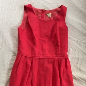 J Crew pink dress