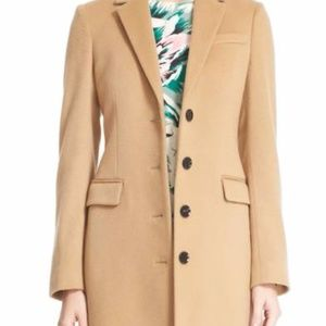 BURBERRY Sidlesham Wool & Cashmere Coat