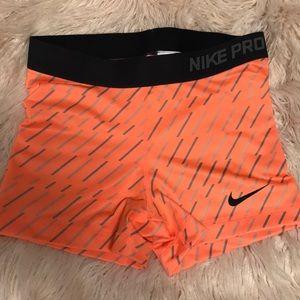 NWOT Nike pro spandex shorts!