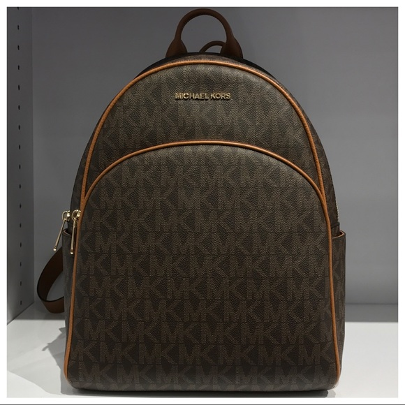 9918522f7f93 NWT MK Abbey Large Backpack- Brown/Acorn. M_5a145ff0a88e7dc54e022c98. Other  Bags you may like. Michael Kors Backpack