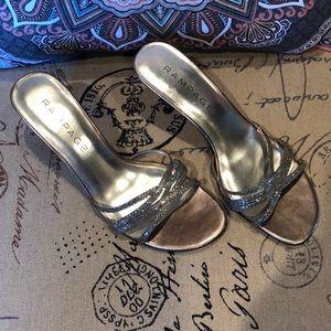 Sandals Silver Glitter