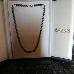 Tahitian Pearl Necklace ( Vtg)
