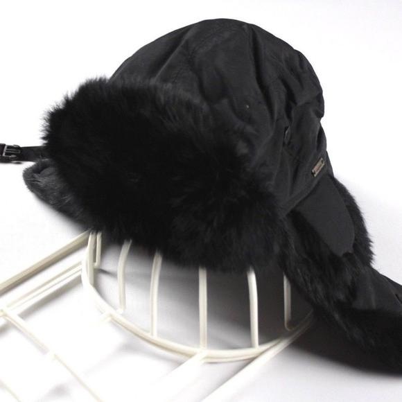 85d585c3ec7f2 New Wigens Rabbit Fur Melton Hunting Ear Flap Hat