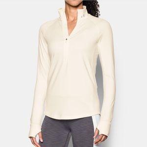 UA COLDGEAR 1/2 ZIP (women's long sleeve shirt)