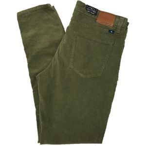 New Lucky Brand Corduroy Brooke Skinny Olive Pants