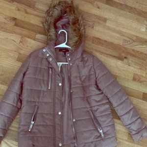 Forever 21 Outerwear Jacket Mauve