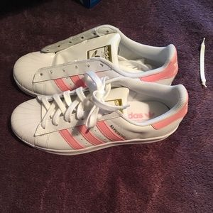 adidas shoes pink and gold. adidas women\u0027s all-stars white/light pink/gold shoes pink and gold