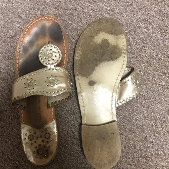 Jack Rogers Shoes - Jack Rogers Platinum sandals Size 6