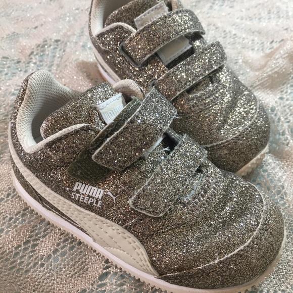 Cheap Puma Steeple All Over Glitter Sneakers InfantToddler