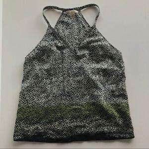 V-Neck Tank Cotton/silk blend size PS