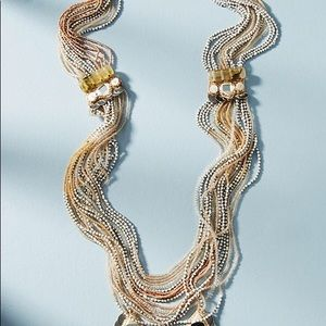 Anthropologie Desert Sunset Layered Necklace