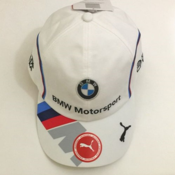 the best attitude 0a05b 0ba50 bmw puma Other - Puma BMW Motorsport Team Cap White Strip Detail