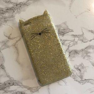 Good Glitter Cat Phonecase