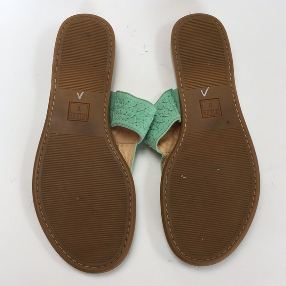 Frye Shoes - Frye Ali Artisinal Thong Sandal 10 Exposed Stitch