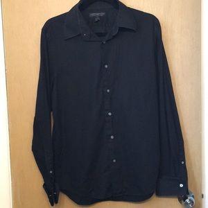 Express Design Studio Woven Cotton Shirt 15-15 1/2