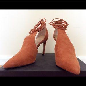 Cinnamon Pointed Toe Heel