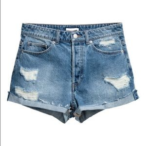 H&M high waisted shorts NWOT
